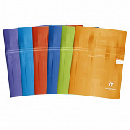 Clairefontaine - Cahier piqûre 24x32 cm 140 pages 5x5 90 grammes