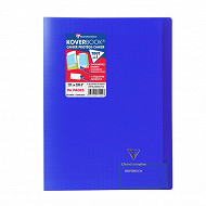 Clairefontaine koverbook 210x297 96 pages seyes translucide bleu marine