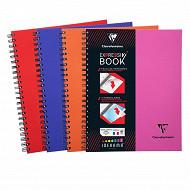 Clairefontaine cahier reliure intégrale 224x297+intercalaire 160p grans carreaux 90g