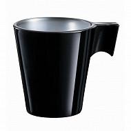 Tasse noire 8cl flashy expresso