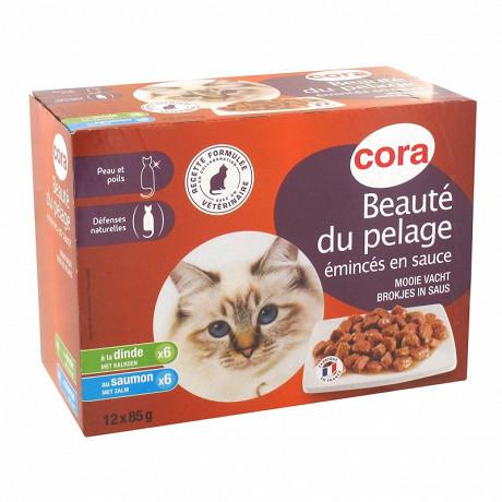Cora pack chat beauté du pelage 12x85g
