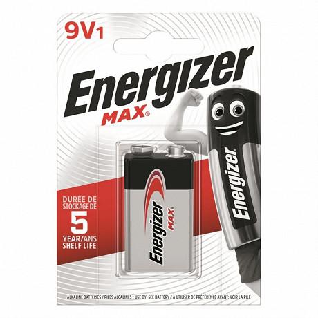 Energizer 1 pile Max  9V