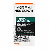 Men Expert Hydra Sensitive soin Hydra Multi-Protec flacon pompe 50ml