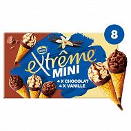 Extrême mini x8 vanille chocolat 312g