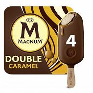 Magnum batonnets double caramel x4 - 352ml - 292 g