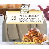 Gourmet d'Alsace 35 pains au chocolat 1750g