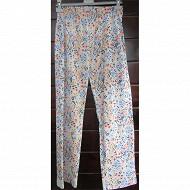 Pantalon jersey femme ROSE T50/52