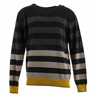 Pull manches longues homme PROMO14MARI/ANTRA/GRISC/MIEL XL