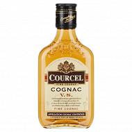Courcel cognac flask 20cl 40%vol