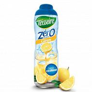 Teisseire zéro 0% de sucre citron 60cl