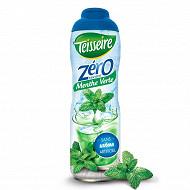 Teisseire zéro 0% de sucre menthe 60cl