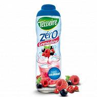 Teisseire zéro 0% de sucre parfum  grenadine 60cl