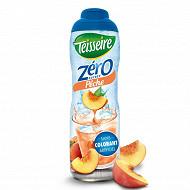 Teisseire zéro 0% de sucre pêche 60 cl