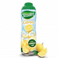 Teisseire sirop de citron bidon 60 cl
