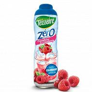 Teisseire zéro 0% de sucre framboise cranberry 60 cl