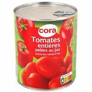 Cora tomates entières pelées au jus 480g