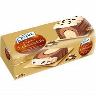 Pilpa bûche exquise 3 chocolats 1 l - 535 g