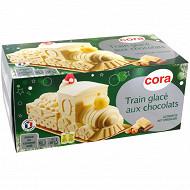 Cora train glacé aux chocolats 1050ml - 750g