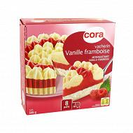 Cora vacherin vanille framboise 545g/1.2l