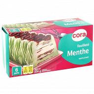 Cora feuilleté menthe 650ml - 334g