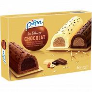 Pilpa dessert 6 bûchettes tout chocolat 660ml - 361g