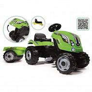 Tracteur farmer xl vert + remorque