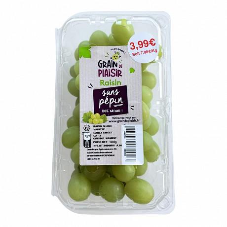 Raisin blanc sans pépins 500g