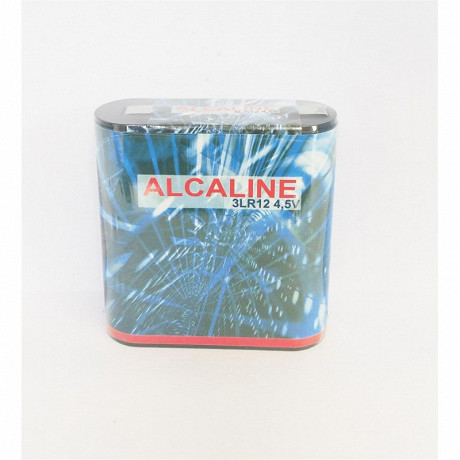 Pile plate alcaline 3LR12