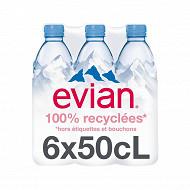 Evian 6x50cl rpet
