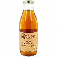 Patrimoine Gourmand pur jus de pomme de Bretagne bocal 1l