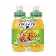 Cristaline multifruits 4x20cl