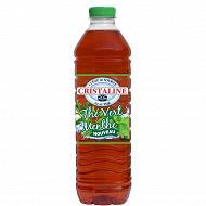 Cristaline eau de source thé vert menthe 1.5l
