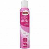 Cora déodorant femme floral 200ml