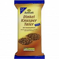 Alnatura biscuits ronds chocolat au lait 100g