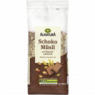 Alnatura muesli au chocolat 750g