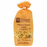 Patrimoine gourmand pâtes d'alsace spaëtzle 250g