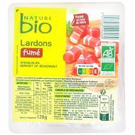 Nature bio lardons fumés bio 120g