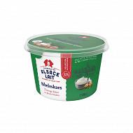 Alsace Lait fromage blanc bibeleskaes aux fines herbes 8,1% mg pot  500g