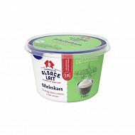 Alsace Lait fromage blanc bibeleskaes nature 8% mg pot rond 500g