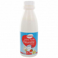 Cora crème fluide fleurette 30%mg 50cl