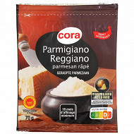 Cora parmigiano reggiano AOP râpé 32%mg 70g