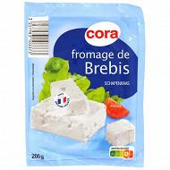 Cora fromage de brebis tranche au lait pasteurisé 200g