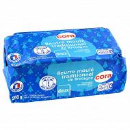 Cora beurre moulé de Bretagne doux 250g