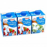 Cora crème liquide légère 15% mg 3x20cl