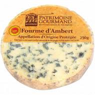 Patrimoine Gourmand fourme d'Ambert AOP au lait pasteurisé 28%mg 250 g