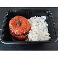 Tomates farcies x2 avec riz