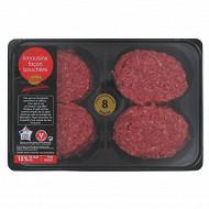 Steak haché 12% façon bouchère Limousin, 8x100g