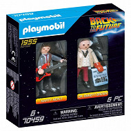70459 Back to the Future Marty Mcfly and Dr.