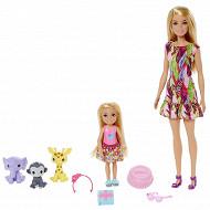Coffret barbie et chelsea anniversaire