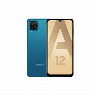 """Samsung Smartphone 6.5"""" GALAXY A12 BLEU"""